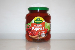 09 - Zutat geröstete Paprika / Ingredient roast bell pepper