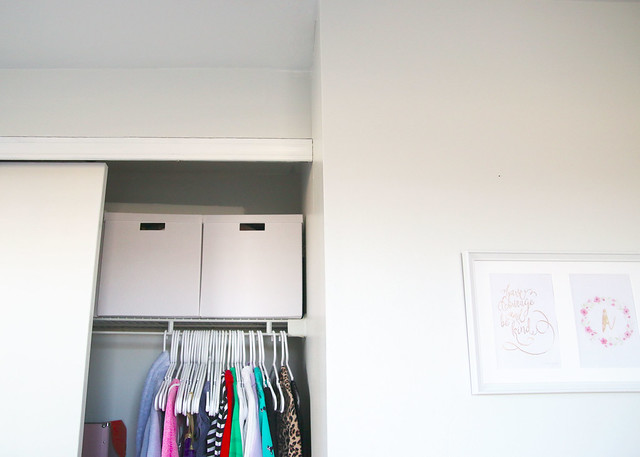Tween Bedroom Closet Organization