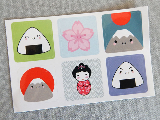 Kawaii Japan stickers