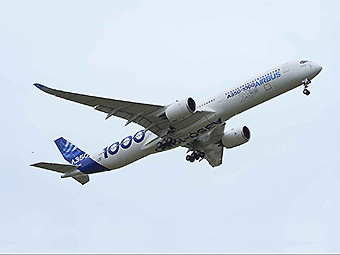 Airbus A350-1000 first flight (Airbus)