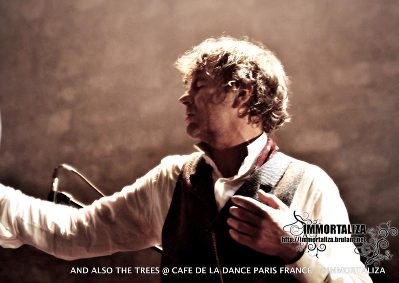 AND ALSO THE TREES DIMANCHE 16 OCTOBRE - CAFE DE LA DANSE. PARIS  30604451302_21acfd2169_c