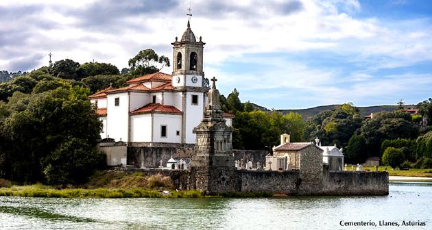 Cementerio, Llanes, Asturias