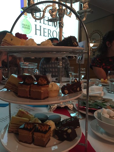 Help for Heroes afternoon tea