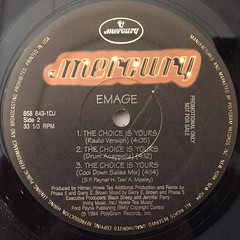 EMAGE:THE CHOICE IS YOURS(LABEL SIDE-B)