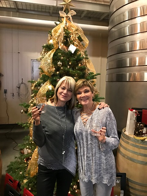 Bouchaine Wine Club Holiday Pick-up Celebration