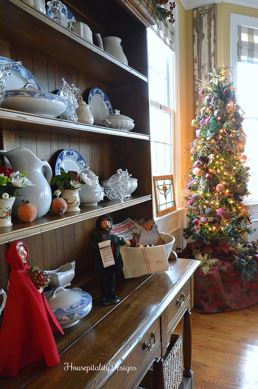 Christmas Tree-Sugared Fruit-Dining Room-Housepitality Designs