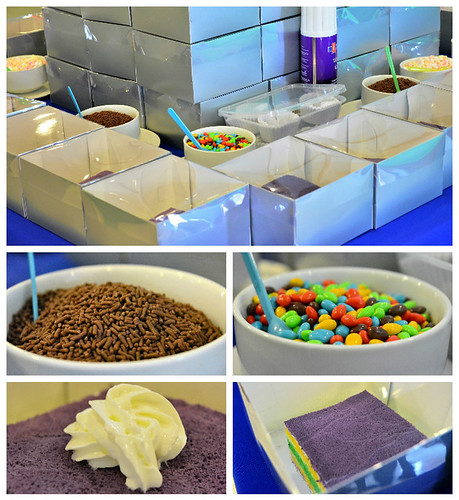Vita Cubes Cake Booth