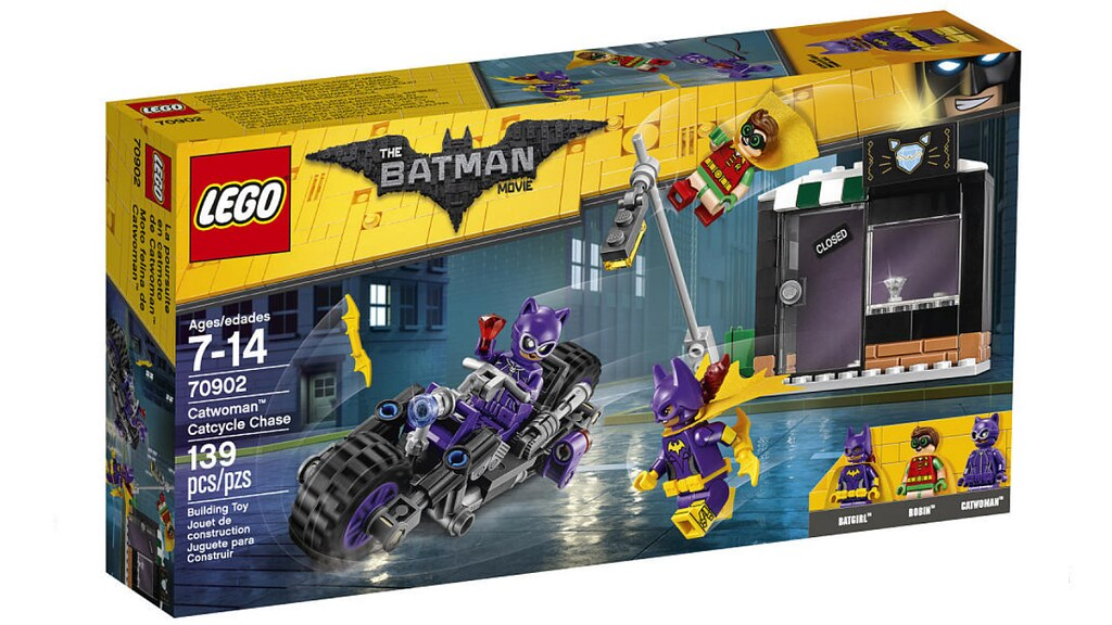 LEGO The Batman Movie 70902 - Catwoman Catcycle Chase