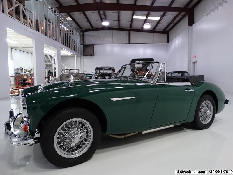 1965 AUSTIN-HEALEY 300 MARK III BJ8 CONVERTIBLE