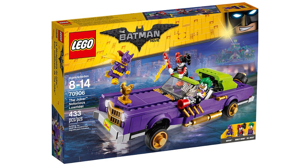 LEGO The Batman Movie 70906 - The Joker Notorious Lowrider