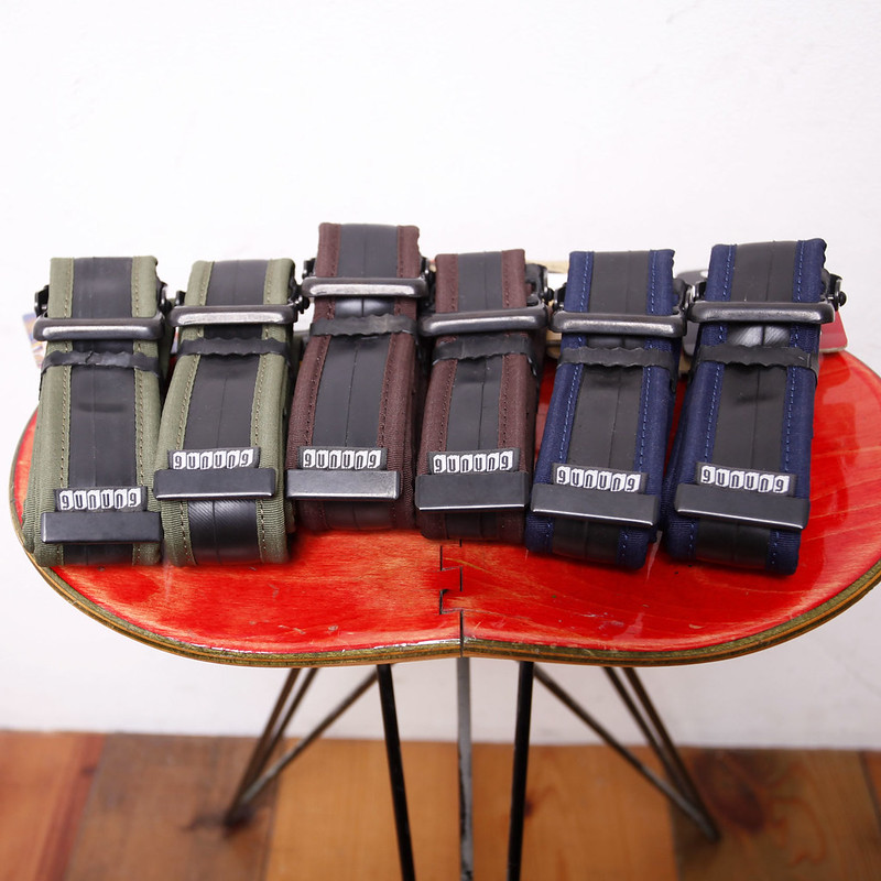 gunung / R-Tube Belt / Various Colors