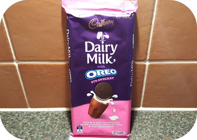 Cadbury Dairy Milk with Oreo Strawberry