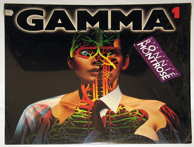 "GAMMA 1 with Ronnie Montrose 12"" LP VINYL"