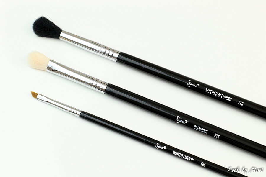 6 sigma makeup eye brushes E06 liner brush E25 E40 eleven.fi