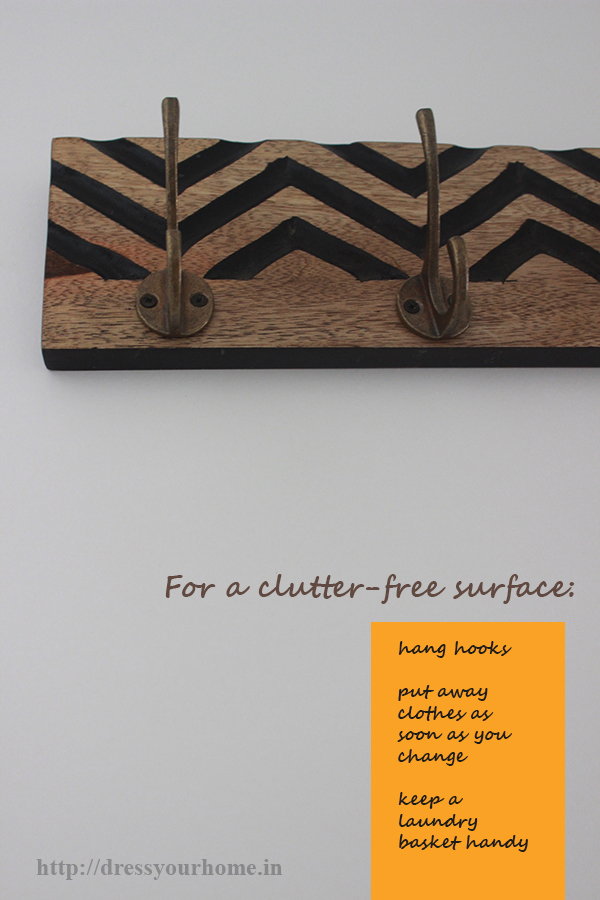 clutter free surface
