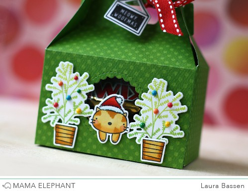 Mama Elephant-Gable Box & Meowy Woofmas
