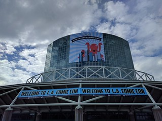 Welcome to LA Comic Con Banner