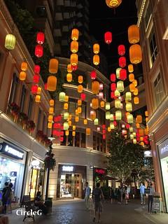 CIRCLEG 遊記 香港 灣仔 銅鑼灣 利東街 合和中心對面 燈籠 靚景 似旅行 聖誕 (2)