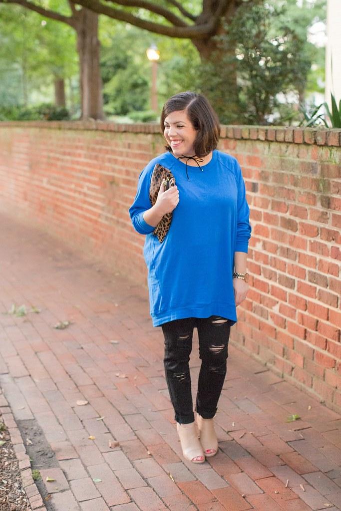 Head to Toe Chic-Slouchy Tunic Worn 2 Ways-@akeeleywhite