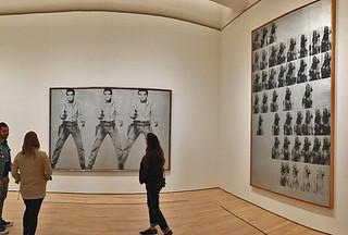 SFMoMA - Andy Warhol Elvis National Velvet