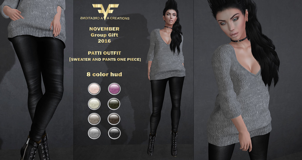 November Group Gift: Patti Outfit