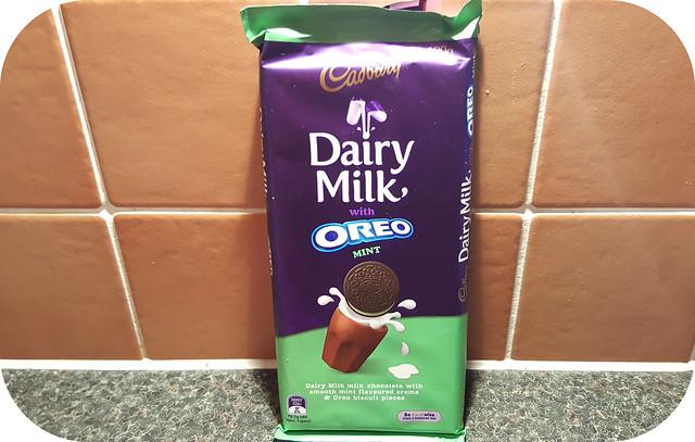 Cadbury Dairy Milk with Oreo Mint