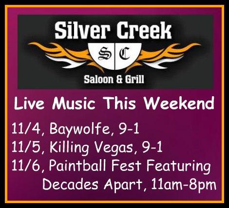Silver Creek Poster 11-4-16