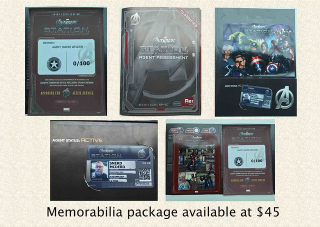 memorabilia package