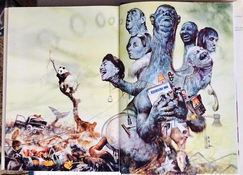 Rien Poortvliet - Illustrazione già tanto attuale nel 1982