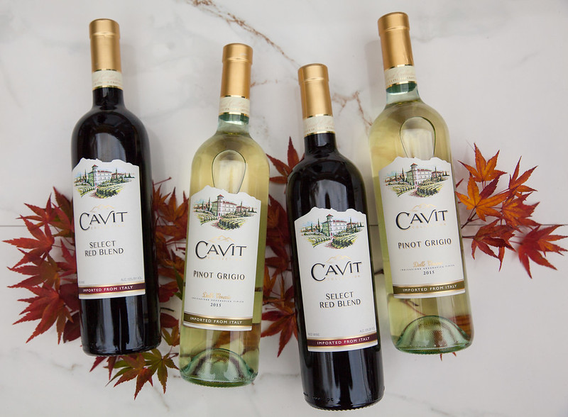Cavit Pinot Grigio & Select Red Blend wines