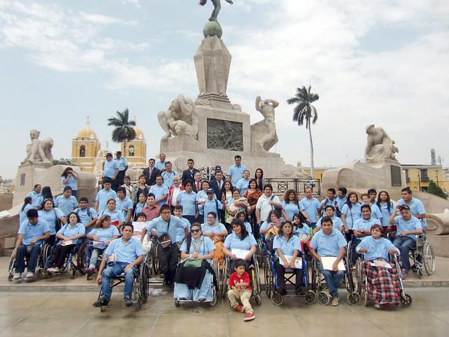03.10.2016 MTPE capacitó a 80 personas con discapacidad en la ciudad de Trujillo gracias a Impulsa Perú