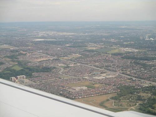 Suburbia #toronto #mississauga  #aerial #flight #latergram