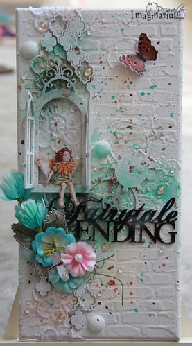 """Fairytale Ending"" Mixed Media Canvas"