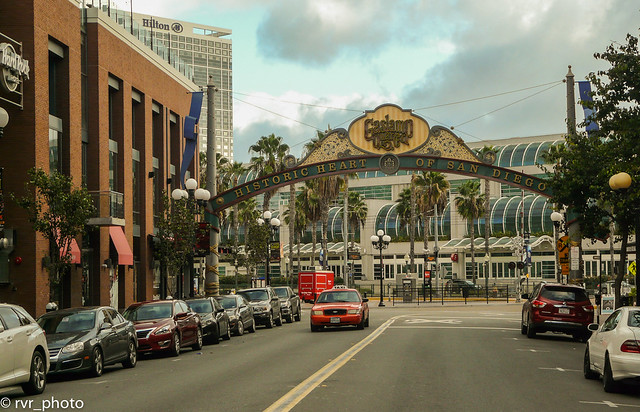 Gaslamp Quarter, San Diego - California