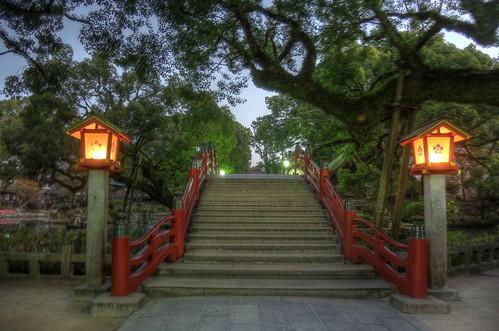 Dazaifu Tenmangu Shrine in early morning on NOV 26, 2016 vol02 (2)