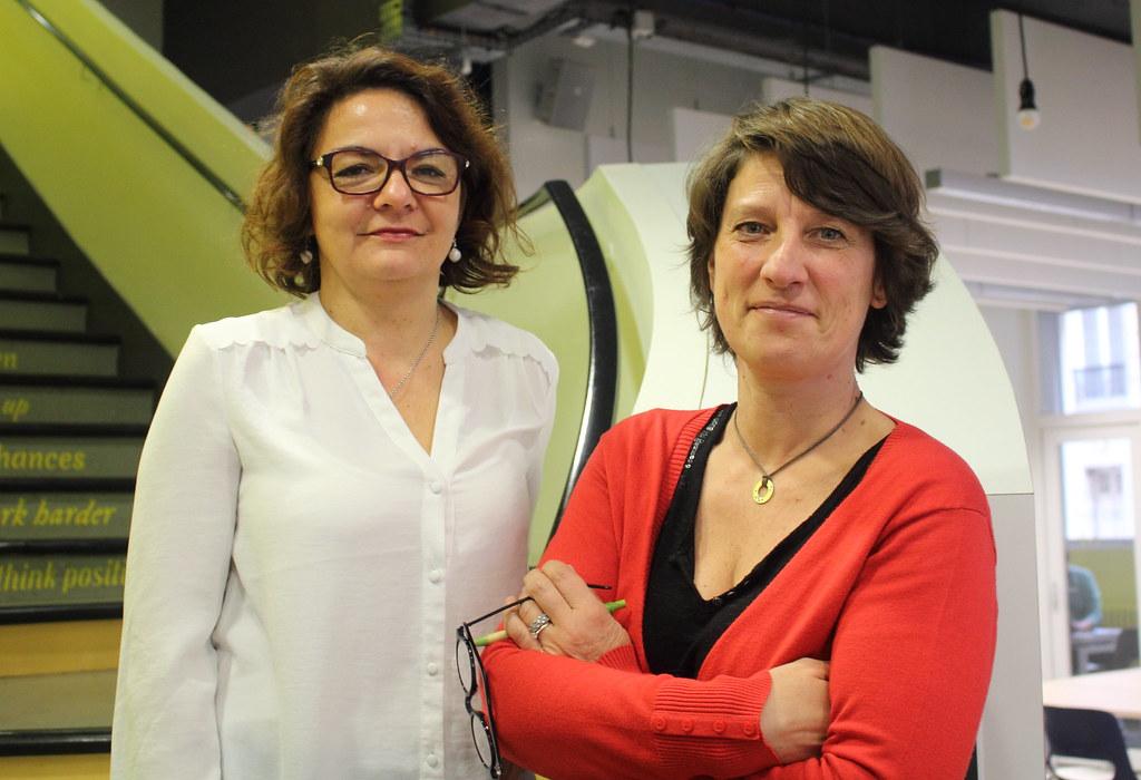 Stéphanie Paris et Sophie Noël (L'Arbradys)