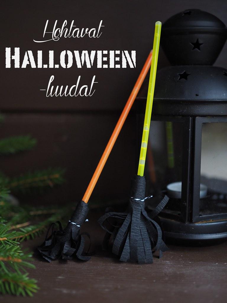 halloween askartelu ideoita