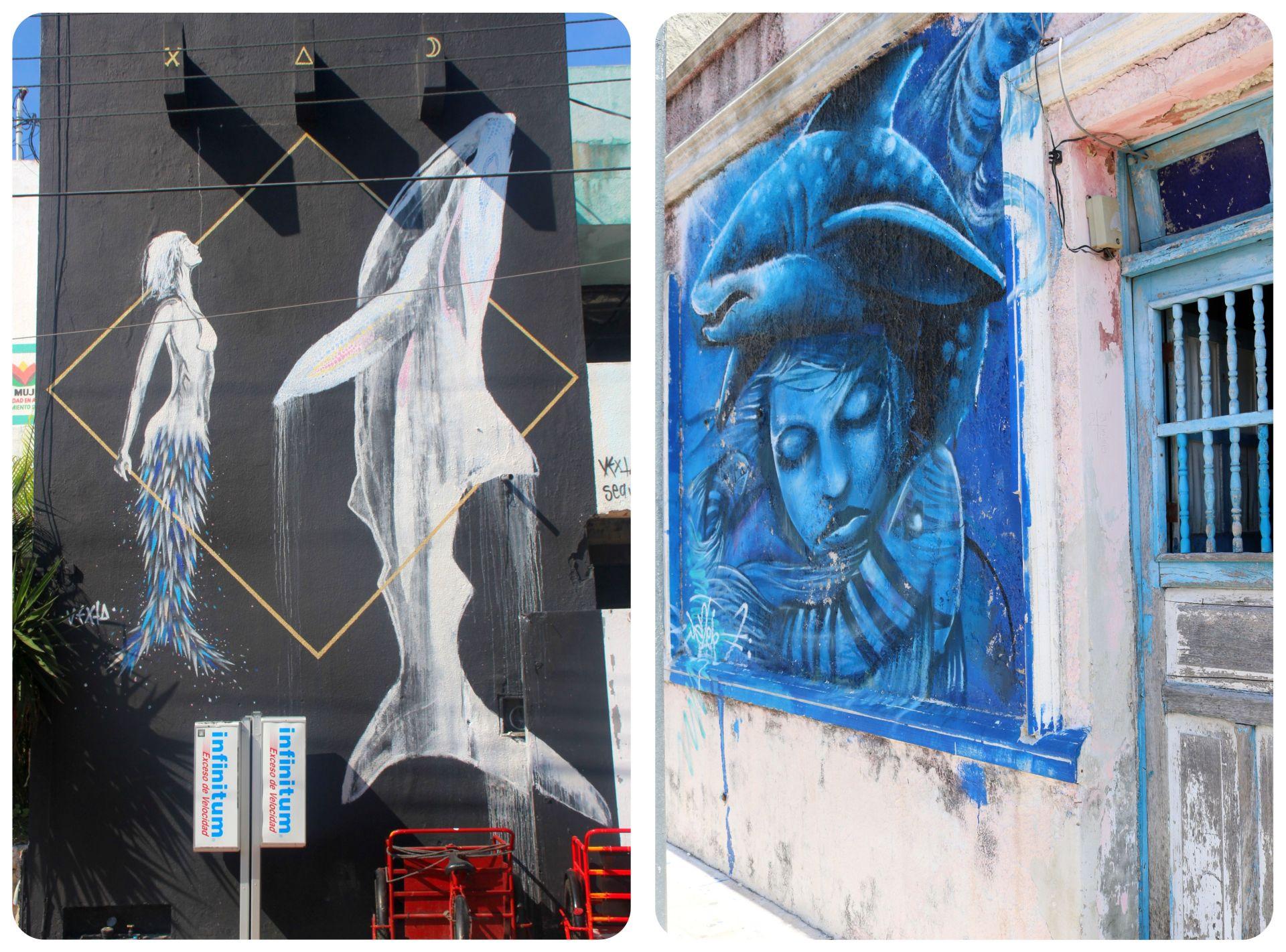 Street Art Isla Mujeres Mexico