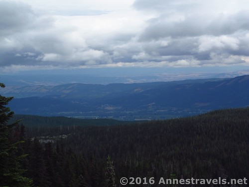 Views toward the plains from Owl Point, Mount Hood National Forest, Oregon