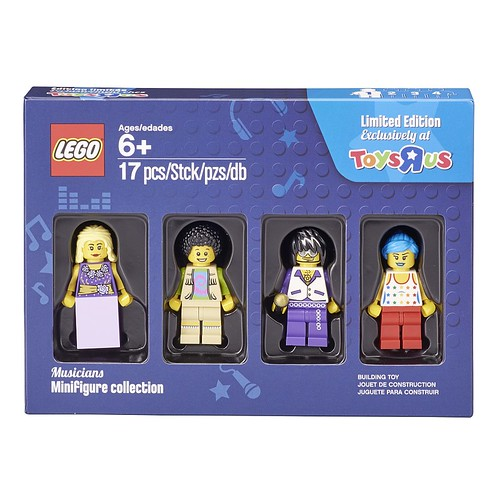 LEGO Musicians Minifigure Collection