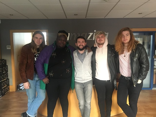 Indigo Velvet live session on Amazing Radio