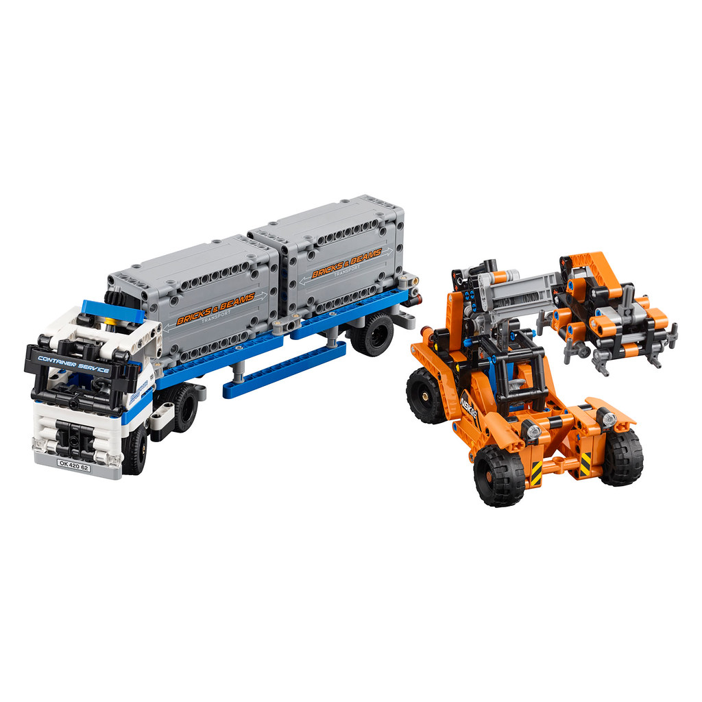 LEGO Technic 42062 - Container Yard