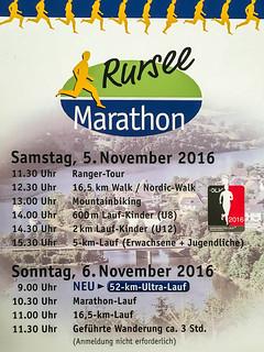Programm 20. Rursee-Marathon