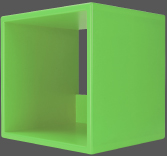 Storage-Cube-Lime-Green