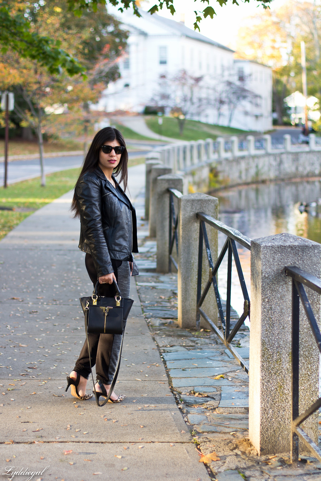 leather moto jacket, joggers, leopard pumps.jpg