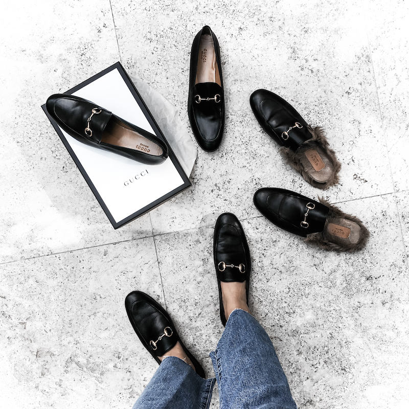 gucci loafers style fashion blogger minimal modern legacy denim Princetown Brixton Jordaan (1 of 1)