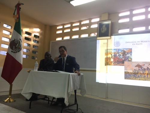 """Charla del embajador José Luis Alvarado González """"Diálogos sobre la revolución mexicana"""""""