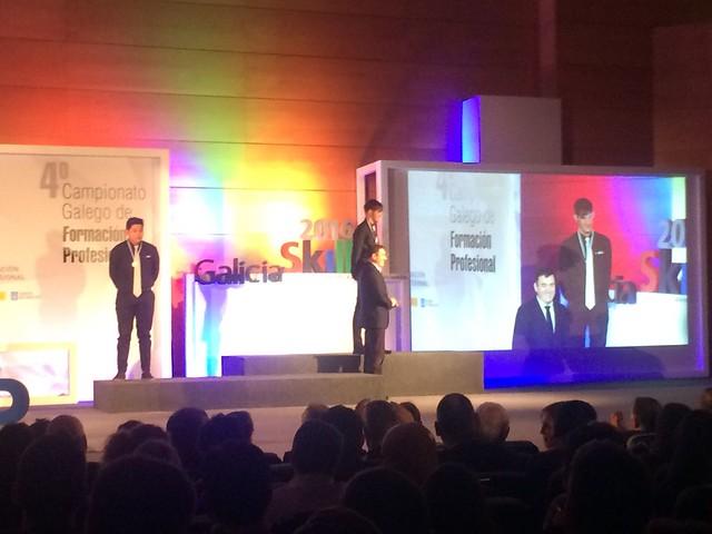 Premios GaliciaSkills 2016 (02.12.2016)