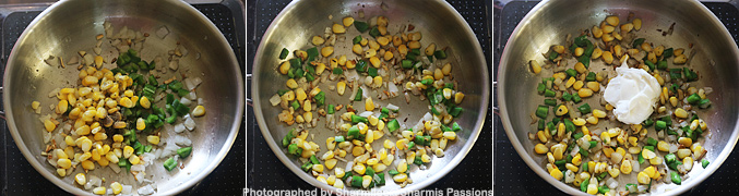 Sweet Corn Mayo Pasta Recipe - Step2