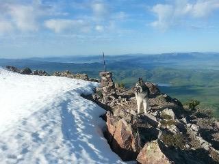 Summit of Oxford Peak